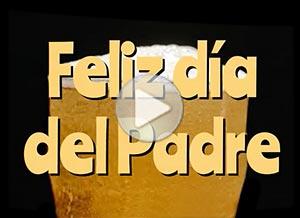 Imagen de Día del Padre para compartir gratis. Para fans de la cerveza