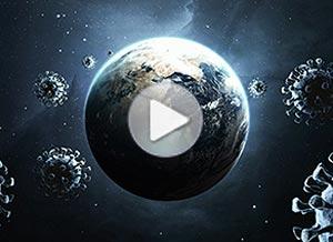 Imagen de Día de la Tierra para compartir gratis. La Tierra en cuarentena