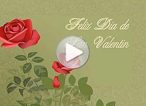 Imagen de San Valentín para compartir gratis. Rosas rojas