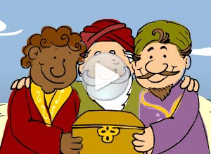 Imagen de Reyes Magos para compartir gratis. Sorpresita mágica