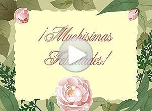 Imagen de Felicitaciones para compartir gratis. Muchísimas felicidades!