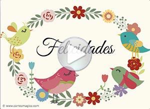 Tarjetas Con Mensajes De Felicitaciones Para Compartir