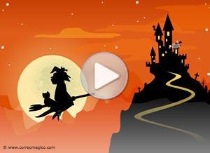 Imagen de Halloween para compartir gratis. Invitación a fiesta de Halloween!