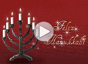 Imagen de Religión Judia para compartir gratis. Alegría y felicidad en Hanukkah