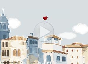 Imagen de Cuarentena para compartir gratis. Te envío mi corazón - ¡Cuídate!