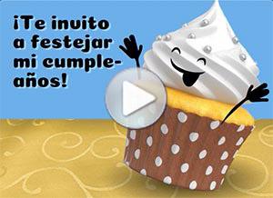 Imagen de Invitaciones para compartir gratis. Te invito a festejar