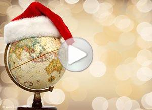 Imagen de Navidad para compartir gratis. Desde la distancia
