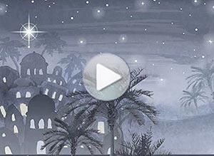 Imagen de Navidad para compartir gratis. Aquella noche de Paz