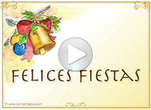Imagen de Navidad para compartir gratis. Campanas de Paz
