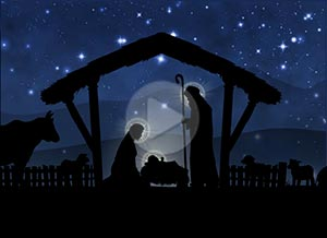 Imagen de Navidad para compartir gratis. El más inmenso Amor