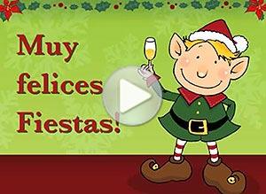 Imagen de Navidad para compartir gratis. Es hora de desearte felicidad