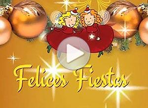 Imagen de Navidad para compartir gratis. Hadas de la Navidad