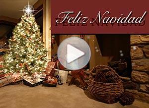 Imagen de Navidad para compartir gratis. Alegría, paz y amor en tu hogar