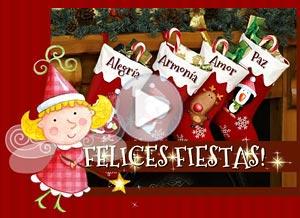 Imagen de Navidad para compartir gratis. Felices Fiestas!