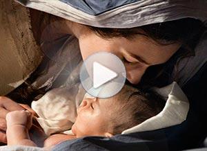 Imagen de Navidad para compartir gratis. El nacimiento de nuestro Salvador
