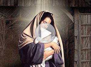 Imagen de Navidad para compartir gratis. La llegada de Niño Dios