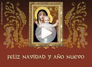 Imagen de Navidad para compartir gratis. Que el Niño Jesús bendiga tu hogar