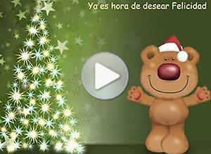 Imagen de Navidad para compartir gratis. Te deseo Felicidad