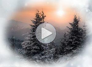 Imagen de Navidad para compartir gratis. Elevemos una plegaria al Cielo