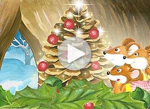 Imagen de Navidad para compartir gratis. Amor y Paz
