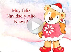 Imagen de Navidad para compartir gratis. Recordándote en las Fiestas