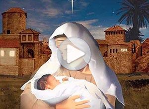 Imagen de Navidad para compartir gratis. El regalo que Dios nos hizo