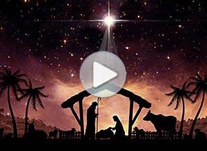 Imagen de Navidad para compartir gratis. Nuestro Salvador ha nacido