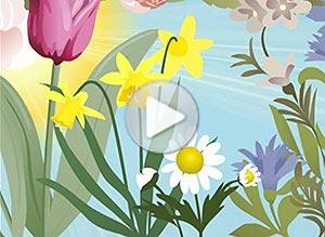 Imagen de Día de la Primavera para compartir gratis. Feliz Primavera!
