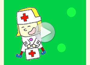 Imagen de Profesiones para compartir gratis. Enfermera