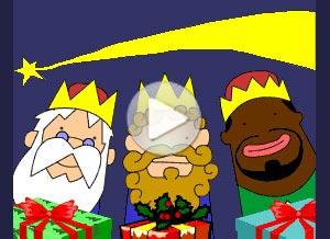 Imagen de Reyes Magos para compartir gratis. Feliz Día de Reyes
