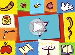 Imagen de Religión Judia para compartir gratis. Feliz Rosh Hashanah