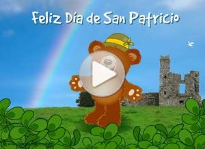 Imagen de San Patricio para compartir gratis. Tengo suerte de conocerte