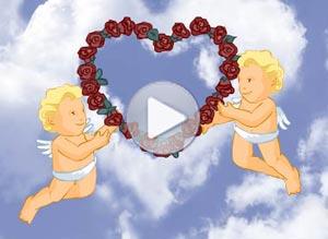 Imagen de San Valentín para compartir gratis. Te amo, mi ángel!