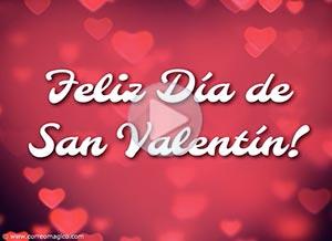 Imagen de San Valentín para compartir gratis. Aquí te envío un poco de amor