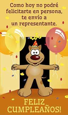 Tarjetas De Cumpleanos Gratis Correomagicocom - Tarjeta-felicitacion-cumpleaos-original