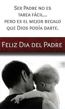 Ser Padre no es tarea facil. Pero es el mejor regalo que Dios podía darte