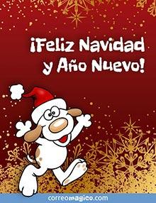 ¡Feliz Navidad y Año Nuevo!
