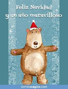 Feliz Navidad y un año maravilloso