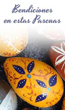 Bendiciones en estas Pascuas