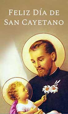 Imagenes Para Whatsapp Del Día De Tu Santo San Cayetano