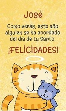 Felicitaciones Santos Bonitas.Tarjetas Con Mensajes Para Saludar Por Tu Santo Ideas Para