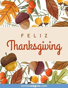 Feliz Thanksgiving