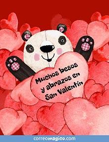 Muchos besos y abrazos en San Valentín