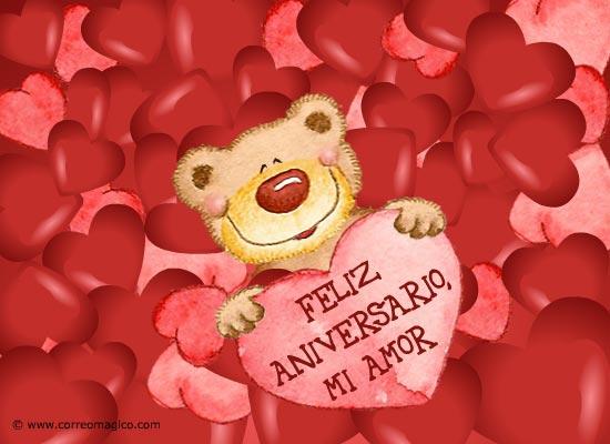Aniversario de Amor Postales Feliz Aniversario mi Amor