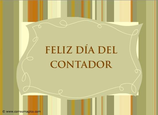 tarjetas-de-profesiones: Feliz Día del Contador