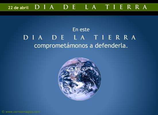 tarjetas-dia-de-la-tierra: Defender la Tierra