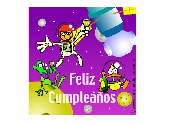 : Cumpleaños espacial