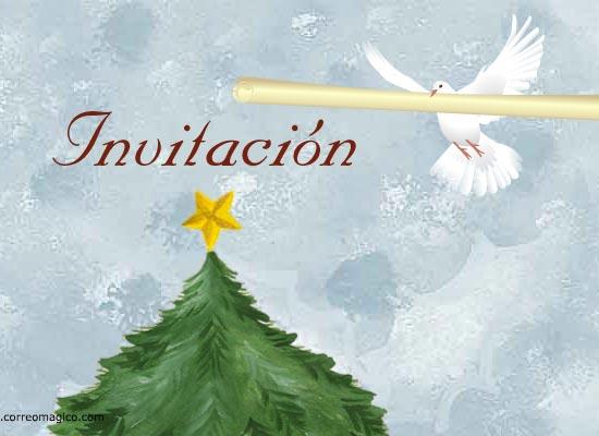 tarjetas-de-invitaciones:  Invitación navideña