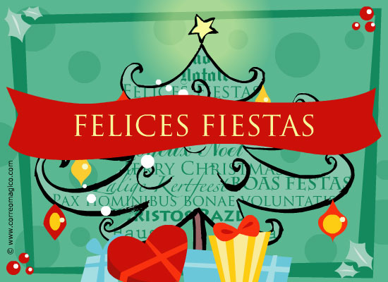: Felices Fiestas