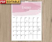 Calendarios 2018 en PDF para descargar.